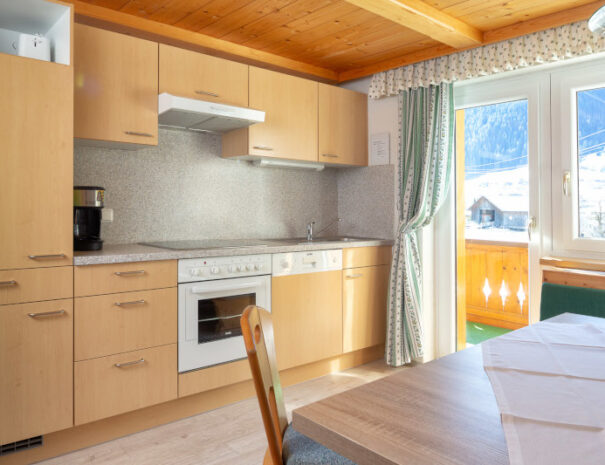 Bergnelke Küche 3