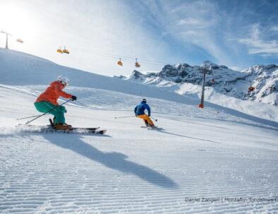Carven Skifahren Silvretta Nova